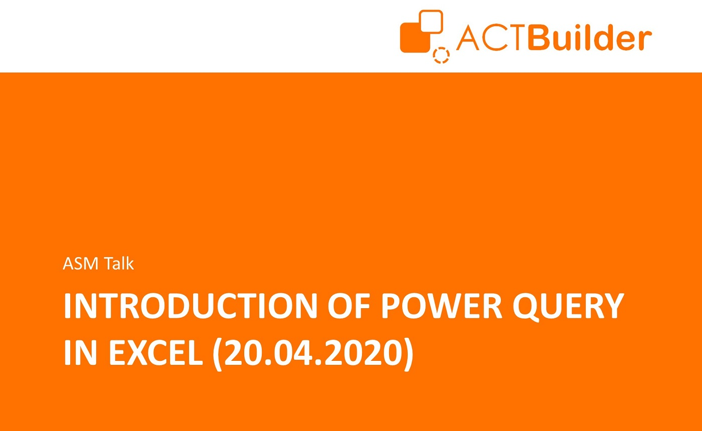 Slides: Introduction to Power Query in Excel (ASM Talk)